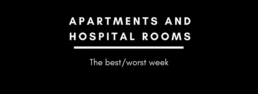 Apartments and hospitalrooms